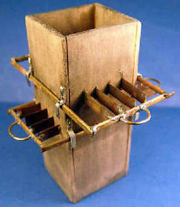 Whale blubber slicer  - 1/12 scale  dollhouse miniature