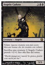 MAGIC MTG - ANGELO CADUTO -  RARA - ORO - ITALIANO - BORDO BIANCO