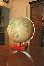 A Mid Century Philips Challenge Globe 13.5 Inch Diameter, Red Bakelite