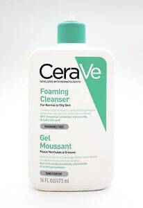 CERAVE Foaming Cleanser 473ml Normal to Oily Skin NEW No Pump #3052