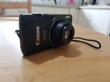Canon IXUS 255 hs - Black -12.1 Megapixel Sensor - 10x Optical Zoom