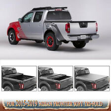 For 2019 Nissan Frontier 5' 60in 5ft Crew Cab Sv Bed Cover Lock Soft Tri-Fold