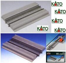 KATO 23-128 PIATTAFORMA MODULARE per STAZIONE a 2 LINEE con BINARI 25x15 SCALA-N