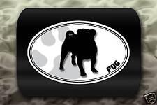 Pug Dog Paw Decal Car Sticker Puppy