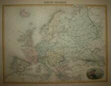 EUROPE POLITIQUE. MIGEON CIRCA 1870.