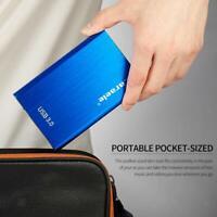 "2.5"" USB 3.0 SATA Box 500G 1T 2T HDD Hard Drive SSD External Enclosure Case"