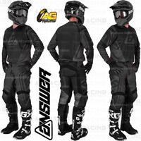 Answer Racing 2019 Syncron Drift Charcoal Black Jersey Pants Combo Kit Motocross