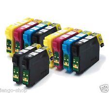 Kit 10 Cartucce Compatibili Per Epson EXPRESSION HOME XP205, XP212, XP215