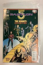 Babylon 5 The Verdict Execution Or War! Dc Comic Book April 1995 Issue#4