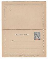 France Oceania Etablissements De L'Oceanie Postal Letter Card HG1 Mint Folded