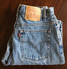 LEVIS 550 Vintage High Waisted Jeans Size 12 Reg Tapered Leg Mom Denim Women's
