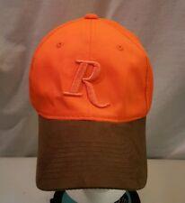Remington Outdoor Hunting Cap  Blaze Orange Hat Suede Bill