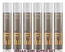 6x500ml Wella Eimi Super set Haarspray extra stark Professionals Kein Import !