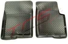 Husky Liners 80-96 Ford Bronco Full Size Classic Style Black Floor Liners #33001