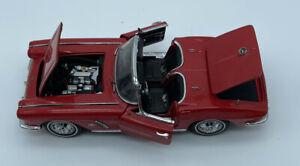 THE DANBURY MINT 1962 CHEVROLET CORVETTE Model Car 1:24 scale