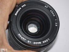 Mamiya Wide Angle Lens 645 Af 45 MM 1:2,8 Lens Ø 67