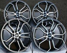 "18"" Gmf Cr5 Alloy Wheels Fit Opel Adam Astra Calibra Corsa d Meriva 5x110"