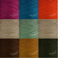 GORGEOUS SOFT CASHMERE COTTON 4 PLY YARN - 500g CONE 10 BALLS KNIT CROCHET WEAVE