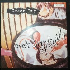"Green Day Geek Stink Breath Rare Ltd Red Vinyl 7"" Picture Sleeve Punk"