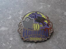DISNEY DLR HAUNTED MANSION 40TH ANNIVERSAY EVENT PIN EARLY DEMISE GIFT