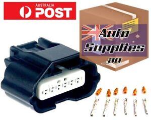 R35 MAF AFM Air Flow Meter Connector Plug Suit Nissan GTR 370Z 350Z VR38 VQ37 ++
