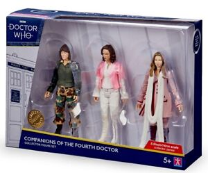 "Doctor Who Companions Of The Fourth 4th Doctor 5.5"" Action Figure Set ... BNIB"