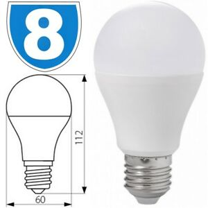 8 x Kanlux LED Energy Saving 12W = 75w E27 Edison Screw Cap Lamp Light Bulb 830