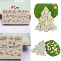 Christmas Silicone Soft Candy Mold Cake Chocolate Decoration Baking Mould Tools