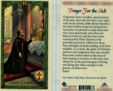 Prayer Card For The Sick O Glorious St Camillus Special Patron of Sick HC9-121E