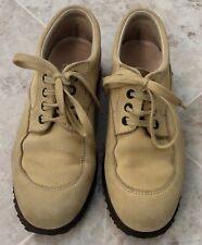 b94c0d1dd39d HOGAN Suede Leather Beige Sandy Women s Athletic Sneakers