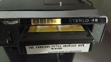 Stereo 48 Automobile Car 8 Track Tape Player Radio Made In Japan