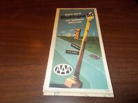 1973 AAA Washington, DC and Suburban Maryland Vintage Road Map