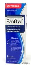 Panoxyl Benzoyl Peroxide Foaming Acne Wash 10% 5.5oz - New