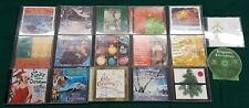 Huge Lot of Christmas Music CDs Assorted Classic Contemporary Pop Jazz Country