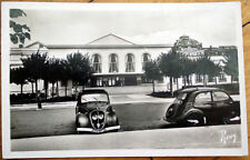 1950 Le Baule, Loire, France Realphoto Postcard: Hotel Royal, Cars