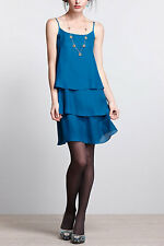 NWT~Anthropologie~Layered Cake Dress~Alexandra Grecco~Blue~6~$198 *SOLD OUT*