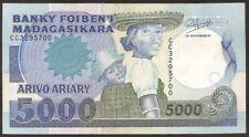 MADAGASCAR 5000 Francs 1988/94  - XF  - Pick 73b
