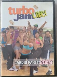 Beachbody Turbo Jam Live! Cardio Party Remix (2005) USED Complete Very Good Cond
