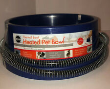NEW K&H PET PRODUCTS 2010 PET THERMAL Water BOWL BLUE 96oz.