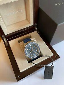 Zenith El Primero Stratos Flyback 45.5mm Automatic Watch 03.2067.405/51.R51