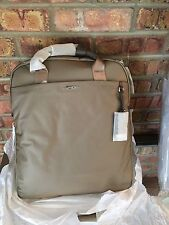 NWT Tumi Unisex Voyageur Nylon Ascot Convertible Backpack Color Fossil $345