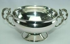 Sterling Silber 925 Runde Schale Jardiniere Henkel Schale
