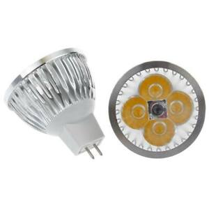1/4/10PCS MR16 6W LED Bulb Spot Light AC DC12V Lamp Warm White/Cool White Lot
