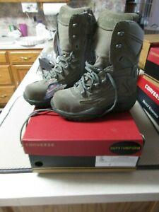 Converse Suede Military Comp Toe BootsC899 Sz 6 Women C8990 4 Men Zip Lace NIB
