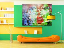 Naomi Campbell Splash 120 cm x 80 cm 5 cm XXL Pop Art/Malerei/StreetArt/Leinwand