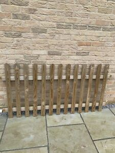 Pressure Treated Pale Picket Fence Panel 180cm x 90cm - 7 panels - 12.6 metres