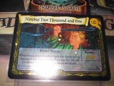 HARRY POTTER TCG CHAMBER OF SECRETS NIMBUS TWO THOUSAND AN ONE 38/140 FOIL MINT