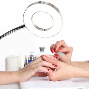 Lamp Desk Table Top Glass Beauty Nail Salon Tattoo Light