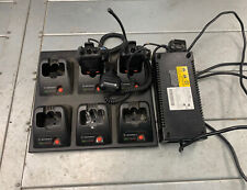 Motorola 6-Bay Charging Station Wpln4171Ar With Power Supply Aa19920
