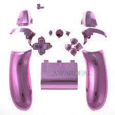 Replacement Controller Button Set ABXY Guide Parts for Xbox One Game Chrome Pink